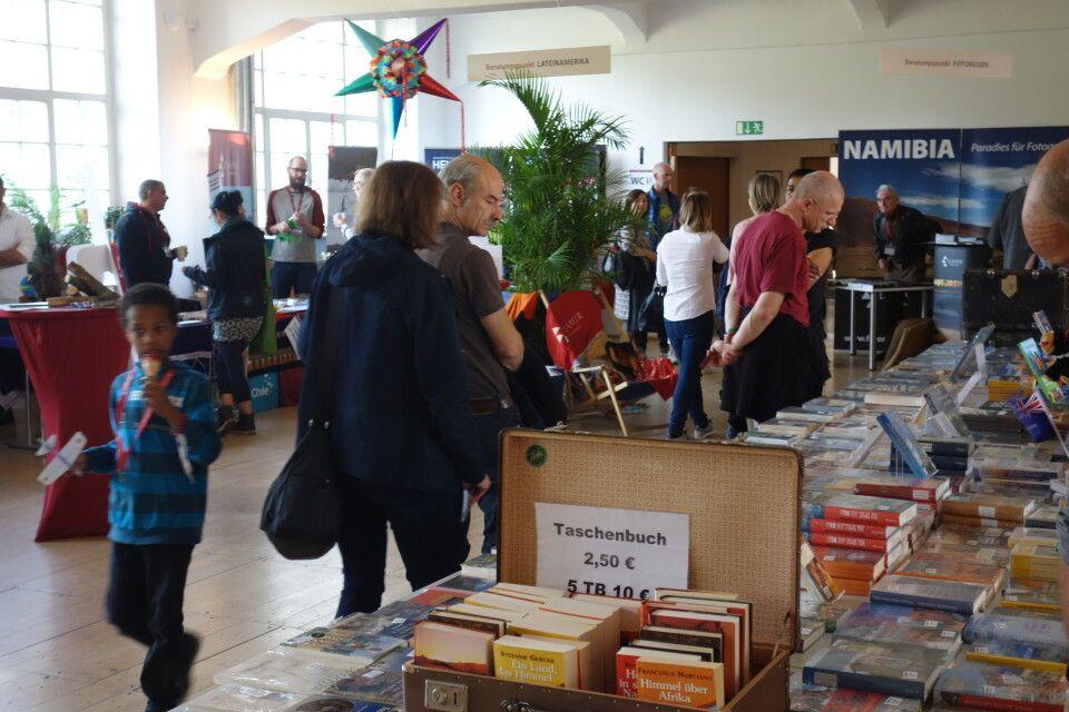 Auch der Reisebuch-Verlag Trescher sowie der Kastanienhof waren mit zahlreichen aktuellen Titeln zu Gast.