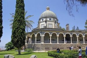 Seligpreisungs Kirche am See Genezareth