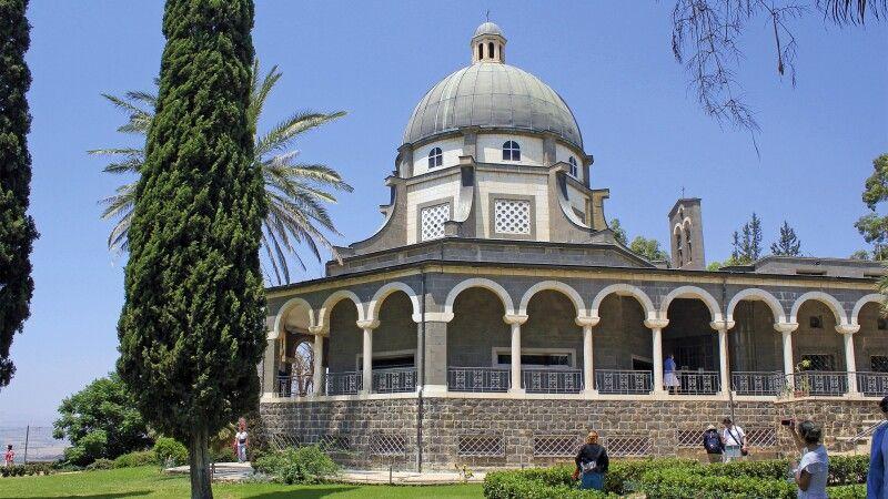 Seligpreisungs Kirche am See Genezareth © Diamir