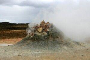 Vulkanische Aktivitäten überall