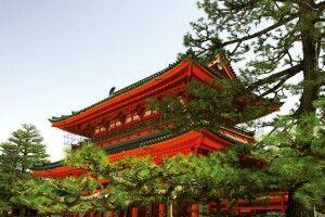 Kiomizu Tempel in Kyoto