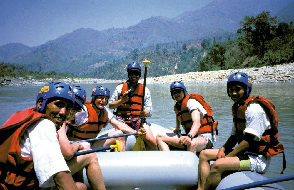 Rafting auf dem Trisuli-Fluss
