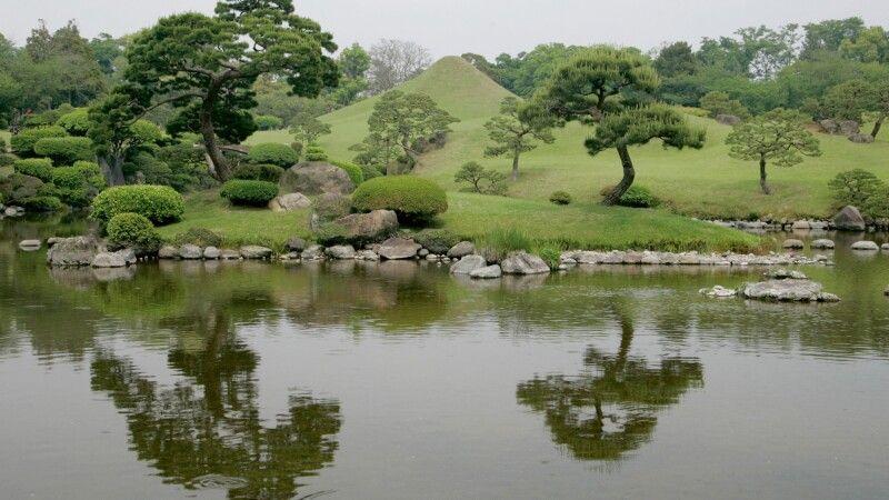 japnischer Garten in Kumamoto © Diamir