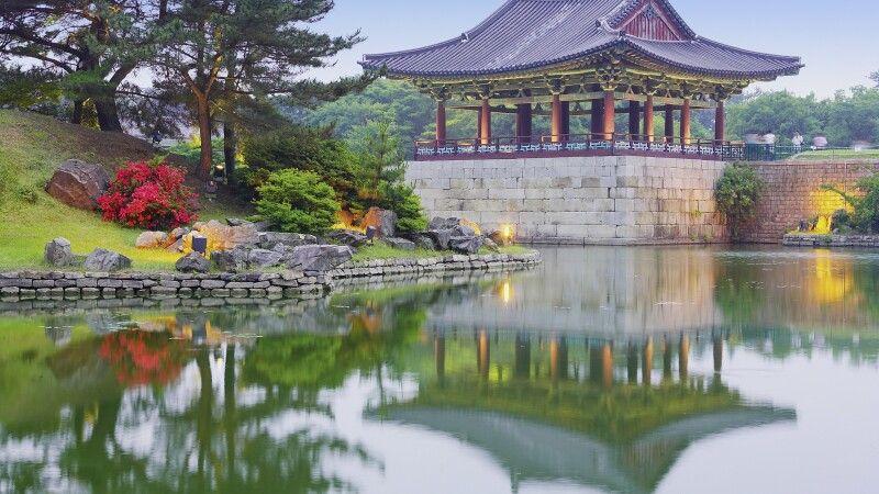 Anapji See in Gyeongju © Diamir