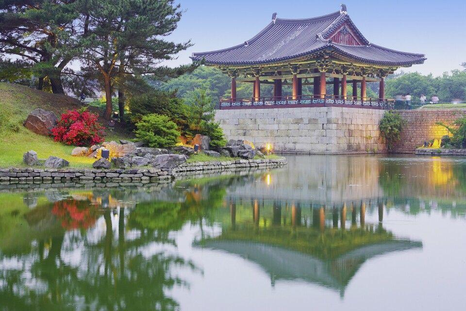 Anapji See in Gyeongju