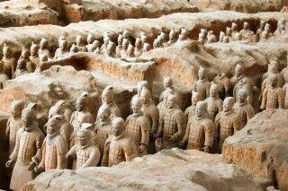 Terrakotta-Armee in Xian