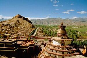 Kumbum (Stupa) im Pelkor Chode in Gyantse