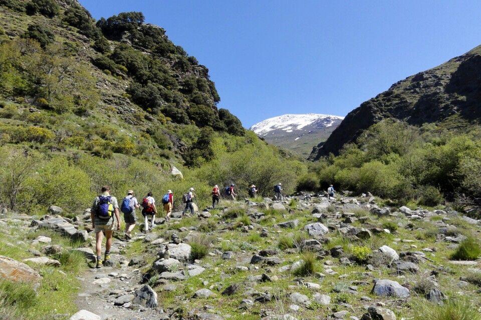 Wandern durch die Sierra Nevada