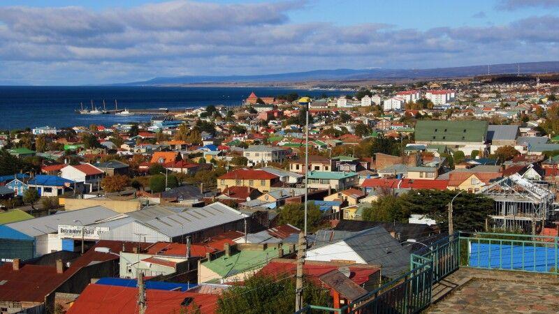 Blick auf Punta Arenas © Diamir