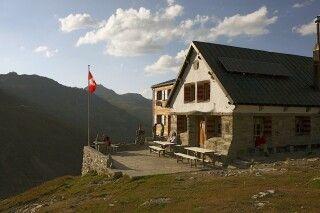 Gemütliche Hütte für die Abende am Berg.