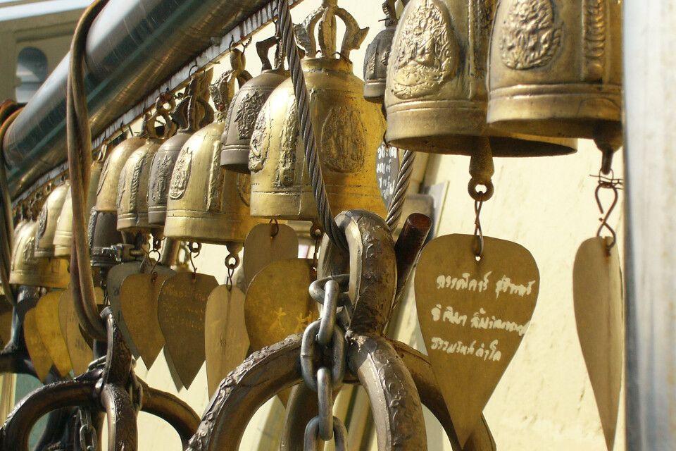 auf dem Golden Mount in Bangkok
