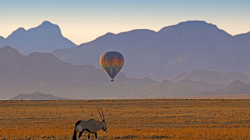 Im Namib-Naukluft-Nationalpark © Diamir