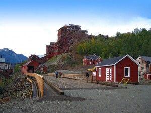 Die Kennicott Mine im Wrnagell - St. Elias NP