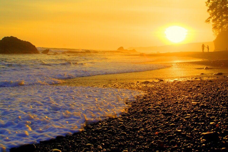 Sonnenuntergang auf Vancouver Island