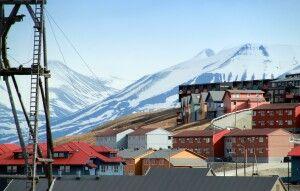 Longyearbyen im Detail