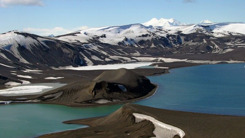 Neptunes Bellow – Eingang nach Deception Island © Diamir