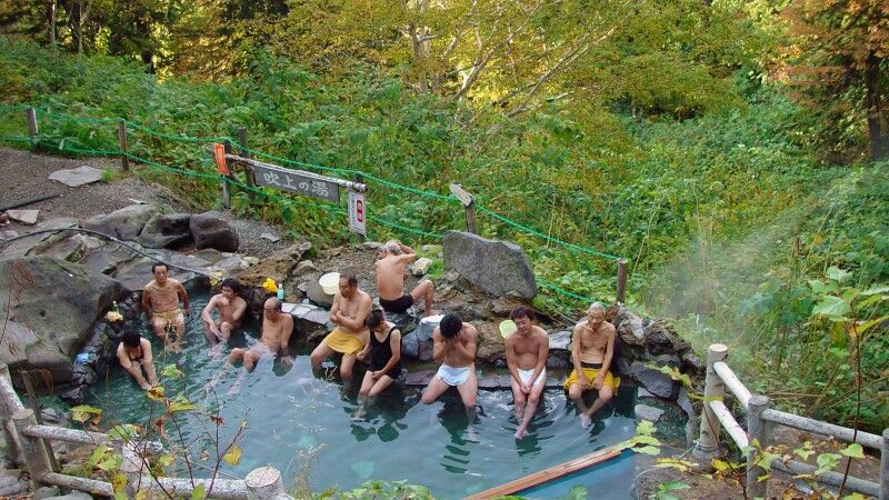 Onsen – Bad in heißen Thermalquellen © Diamir