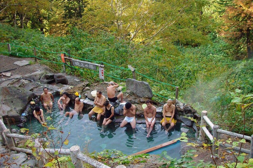 Onsen – Bad in heißen Thermalquellen