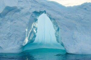 Eisbergdetail