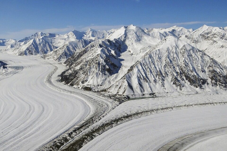 Atemberaubende Gletscher im Kluane NP