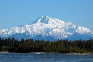 Blick auf den Mt. McKinley