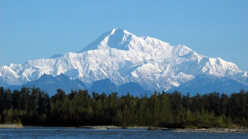 Blick auf den Mt. McKinley © Diamir