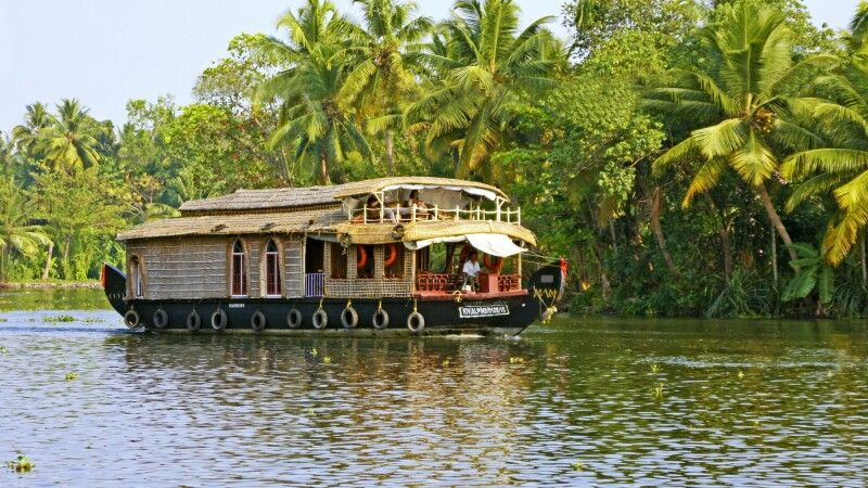 Boot in den Backwaters Alleppey © Diamir