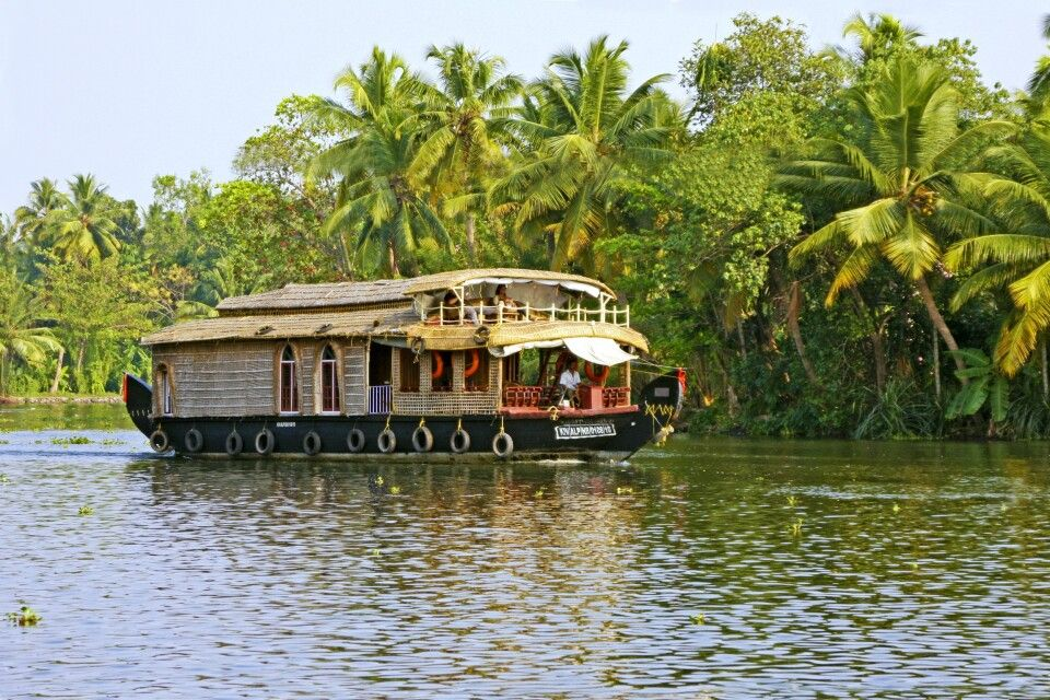 Boot in den Backwaters Alappuzha