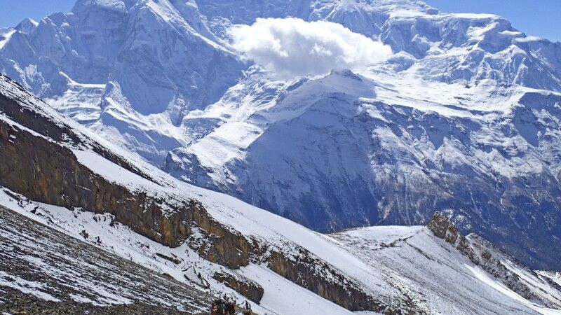 Abstieg Kang-La-Pass © Diamir