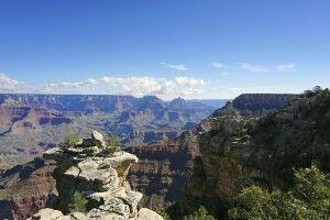 Aussichtspunkt im Osten des Grand Canyon NP