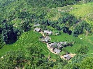 In der Bergwelt Nordvietnams