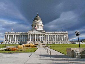 Das Kapitol in Salt Lake City, Utah