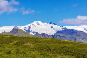 Ein Sommertag im Skaftafell