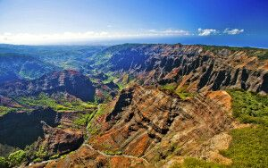 Der Waimea Canyon auf Kauai