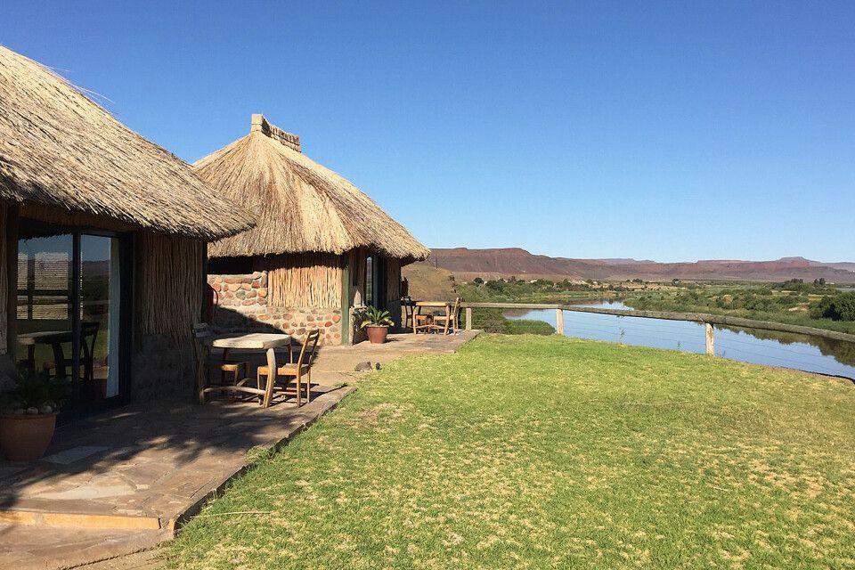 Felix Unite Camp, am Oranje-Fluss
