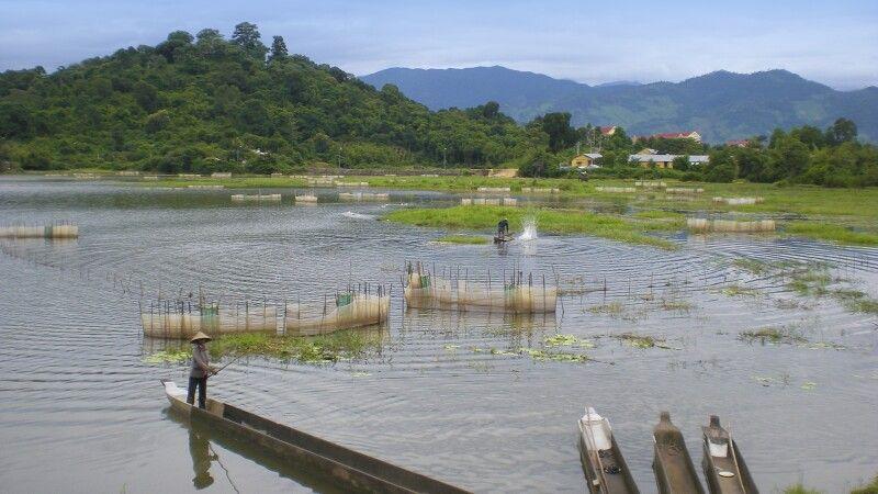 Der Lak-See – einer der schönsten und größten Frischwasserseen Vietnams © Diamir