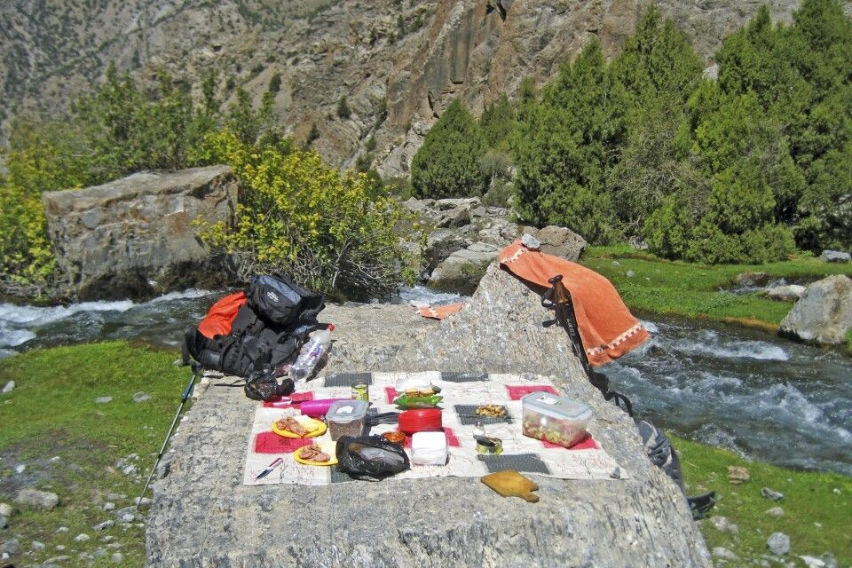 1.Trekkingtag – Picknick in idyllischer Umgebung