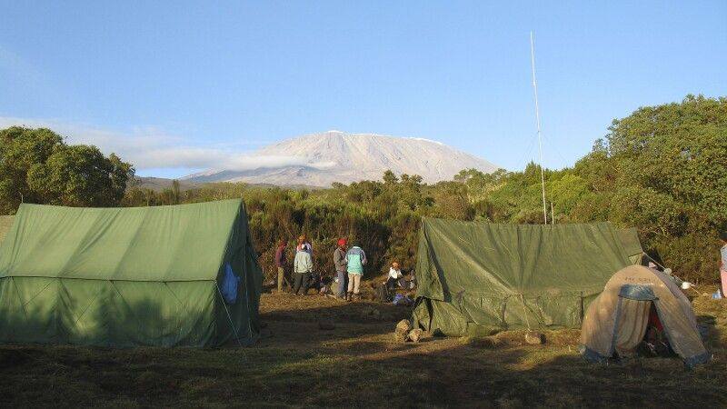 Rongai Route, First Cave Camp © Diamir