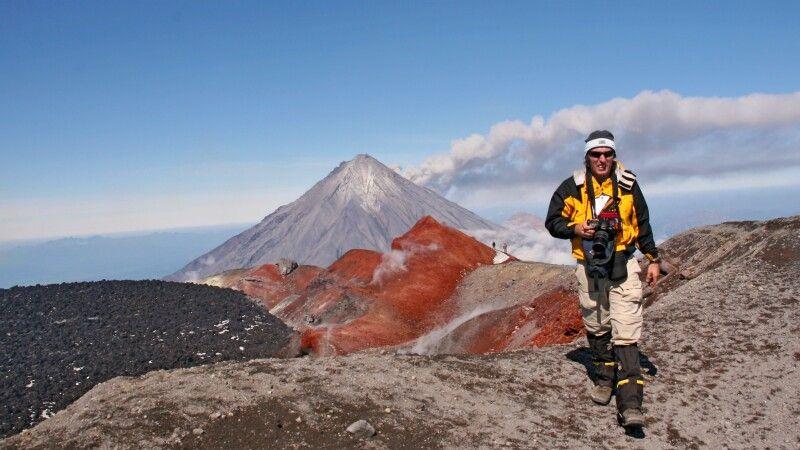 Auf dem Kraterrand des Awatschinskij © Diamir