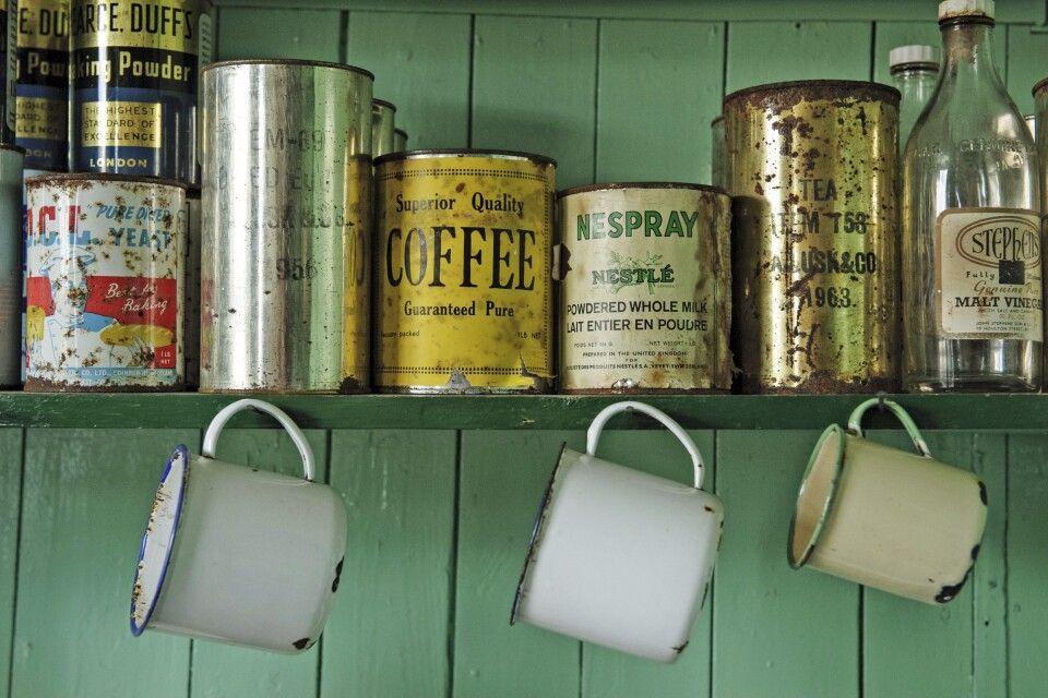 Im Museum von Port Lockroy