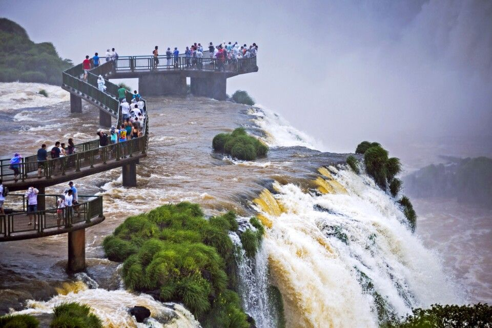 Iguazu-Wasserfälle, brasilianische Seite