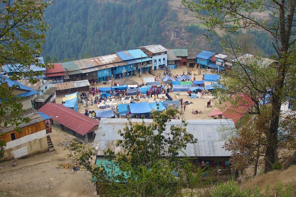 Markt in Phaplu