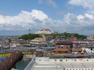 Elmina, Burg, Panorama
