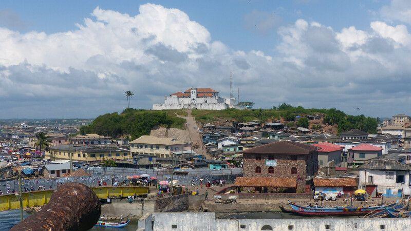 Elmina, Burg, Panorama © Diamir