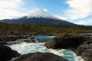 Majestätischer Vulkan Osorno