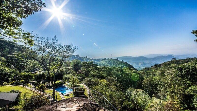 Blick vom The Melheim Resort © Diamir