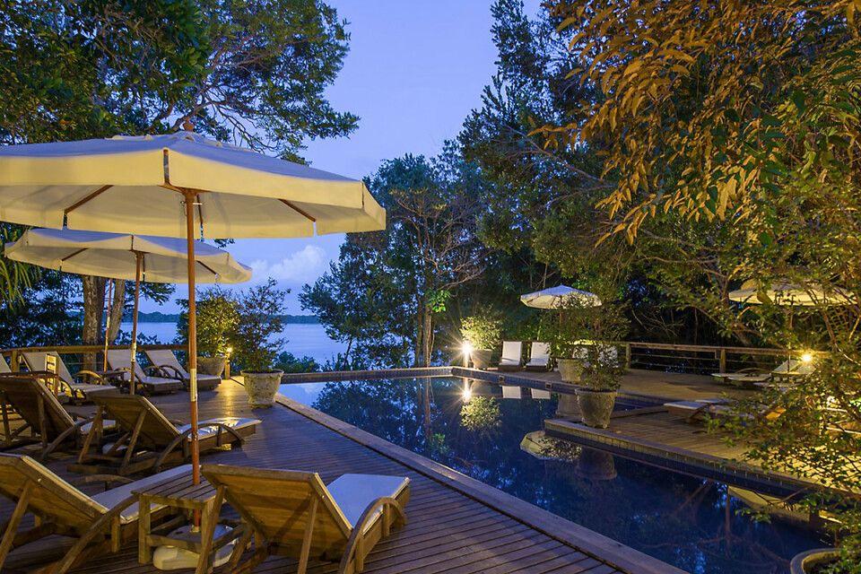 Pool der Anavilhanas Jungle Lodge