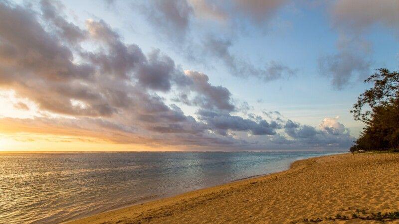 Strand am Abend im Le Nautile beach Hotel  © Diamir