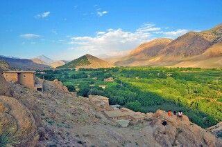 Agouti Dorf im Hohen Atlas