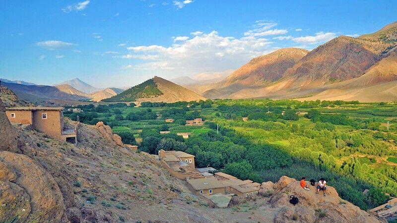 Agouti Dorf im Hohen Atlas © Diamir